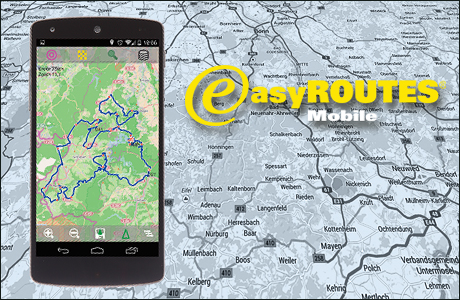 easyROUTES Mobile | Tourenplanung und Navigation für Android