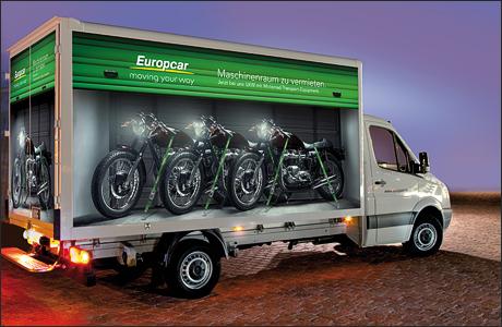 Europcar Bietet Motorradtransporter An