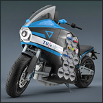 Eindhoven University of Technology: Electric motorcycle Storm Pulse