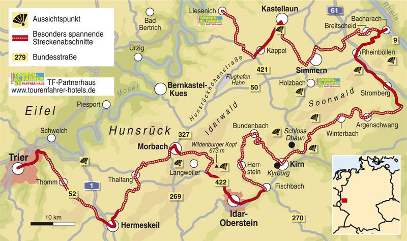 Hunsrück Hochwald Karte.Hunsrück Karte Onlinebieb