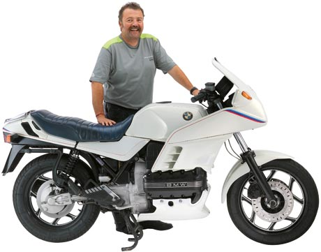 Leserbike BMW K 100 RS MOTORSPORT