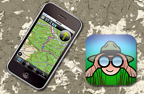 Magic Maps auf iPhone