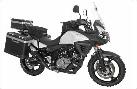 touratech zubeh r f r suzuki dl 650 v strom tourenfahrer. Black Bedroom Furniture Sets. Home Design Ideas