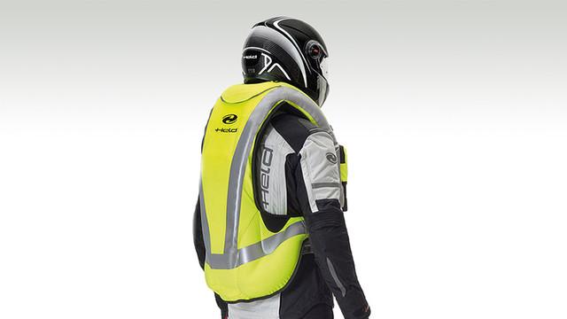 Airbag-Jacke Motorrad