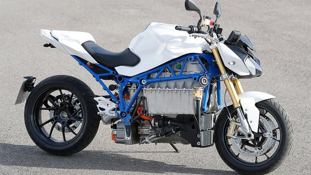 BMW Elektro-Motorrad-Prototyp