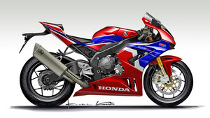Honda Fireblade Red Dot Design Award 2020