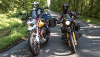 Moto Guzzi V85 TT / BMW R 100 GS