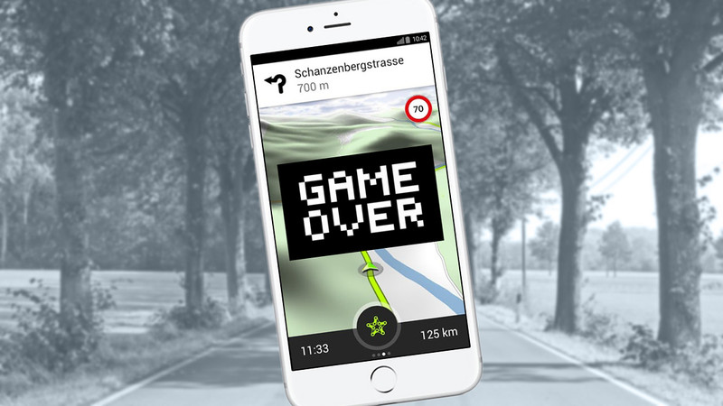 garmin stellt navigations apps ein tourenfahrer. Black Bedroom Furniture Sets. Home Design Ideas