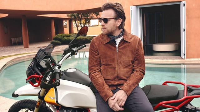 Ewan McGregor wirbt für Guzzi