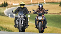 Ducati Diavel 1260 S vs. Triumph Rocket 3 GT