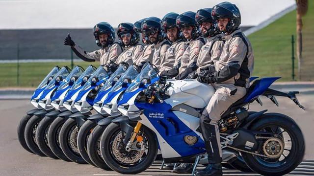 Ducati Panigale V4 | Abu Dhabi Police