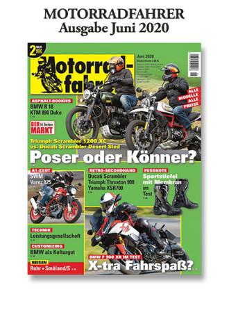 Motorradfahrer« Juni 2020