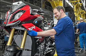 Produktionsstart BMW S 1000 XR im April 2015