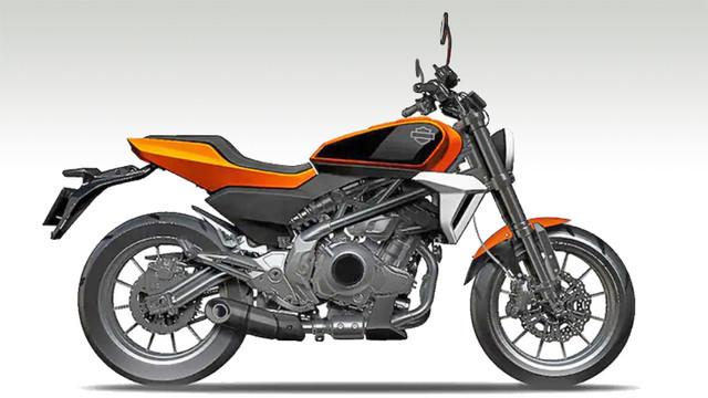 Harley-Davidson 338 Concept Bike China Qianjiang