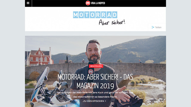Viva la Mopped – Motorrad: Aber sicher
