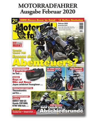 »Motorradfahrer« Februar 2020