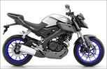 Yamaha MT-125 in Race Blu