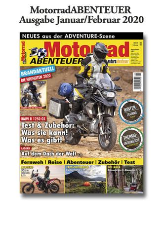 MotorradABENTEUER Ausgabe Januar/Februar 2020