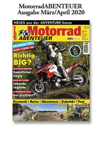 MotorradABENTEUER Ausgabe März/April 2020