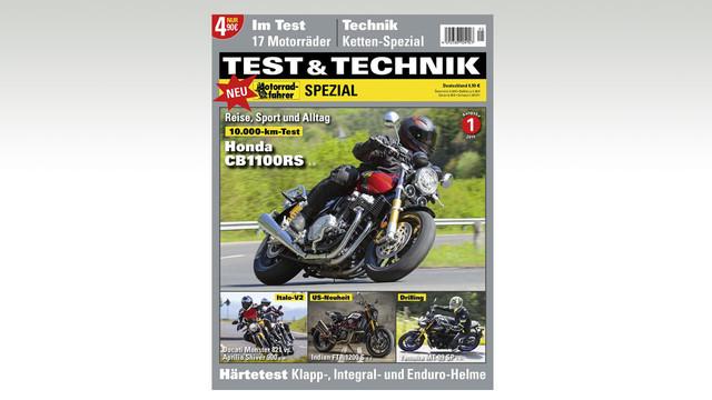 Motorradfahrer Sonderheft »TEST & TECHNIK SPEZIAL«