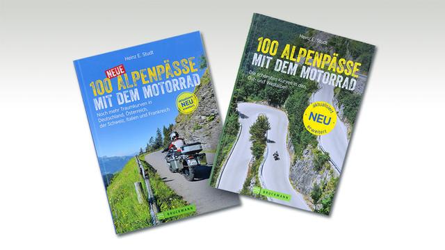 H.E. Studt: »100 Alpenpässe mit dem Motorrad«