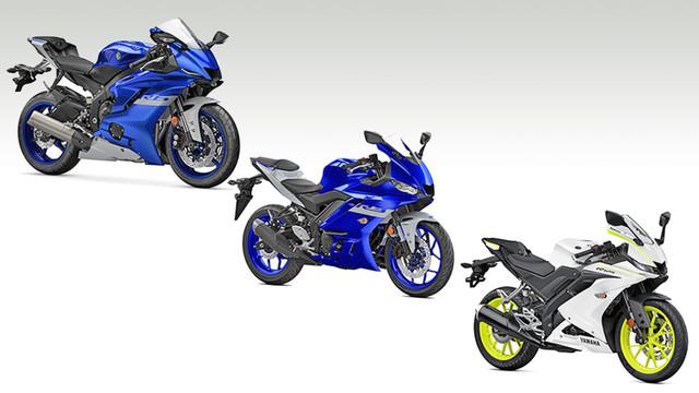 Neue Farben für Yamaha R-Modelle 2020
