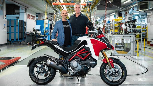 100.000 Ducati Multistrada gebaut