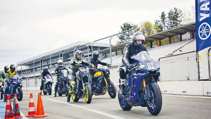 Yamaha-Training am Hockenheim-Ring