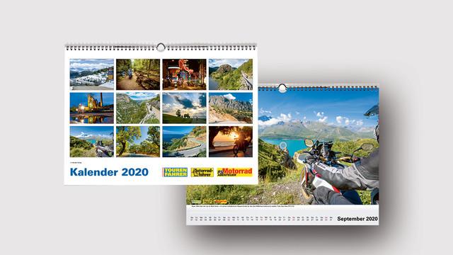 Tourenfahrer Motorrad-Kalender 2020