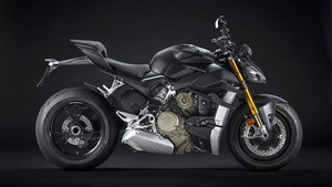 Ducati Streetfighter V4 S in »Dark Stealth«