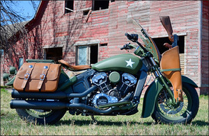 Indian Custom Military Scout