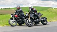 Ducati Scrambler 1100 Sport Pro vs. Triumph Street Scrambler