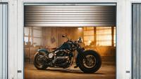 Style your Garage – fotorealistisch bedruckte Plane fürs Garagentor