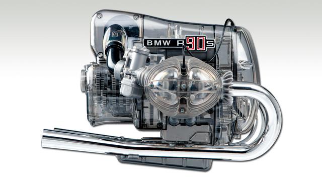 Franzis Modell R90S Boxermotor