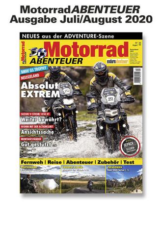 MotorradABENTEUER Ausgabe Juli/August 2020