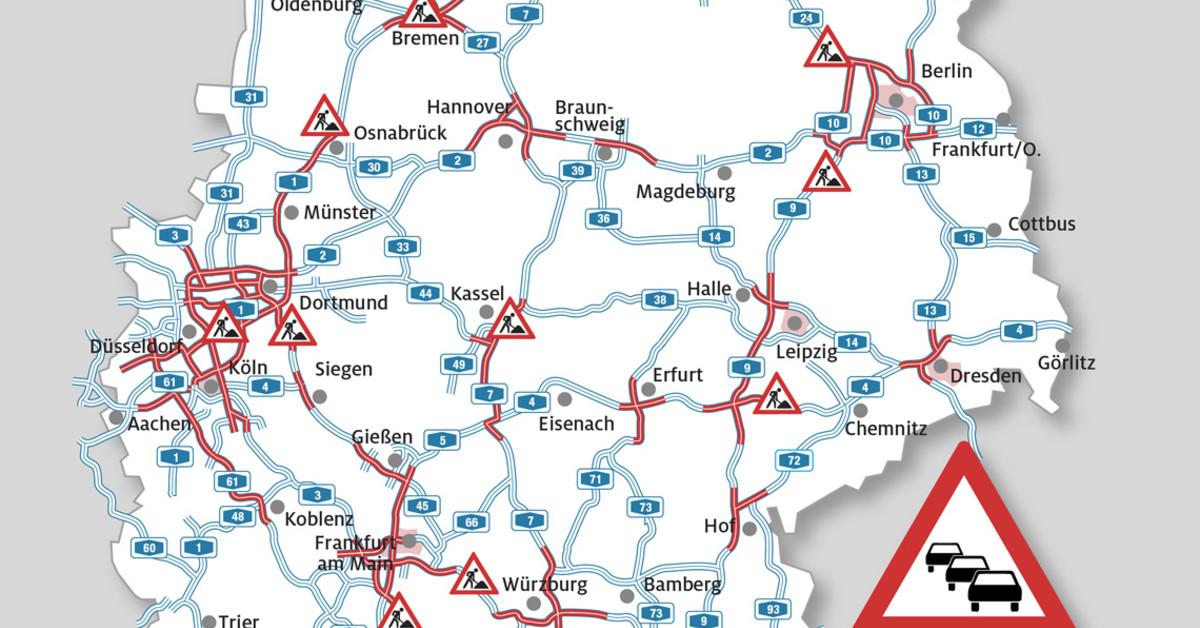Stauprognose Baden Württemberg