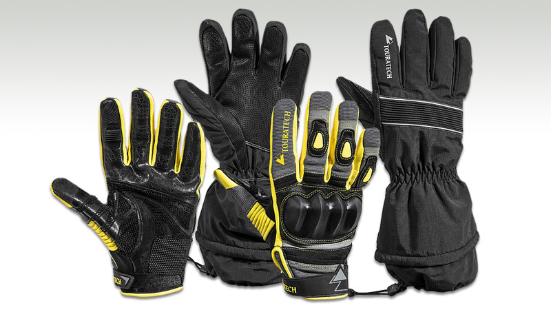 Touratech Motorrad-Handschuh Guardo World