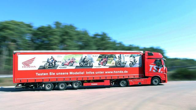 Honda Testride-Truck auf Deutschland-Tour