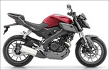Yamaha MT-125 in Anodized Red