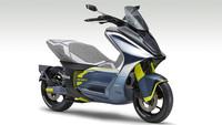 Elektroroller Yamaha E01