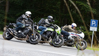 BMW R nineT Racer, Kawasaki Z 900 RS Cafe, Yamaha XSR 900