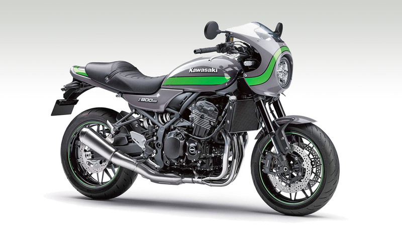 kawasaki z 900 rs caf modell 2019 in neuer farbe. Black Bedroom Furniture Sets. Home Design Ideas