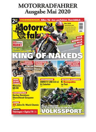 Motorradfahrer« Mai 2020