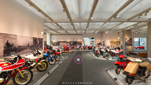 Virtueller Rundgang durch Honda Collection Hall