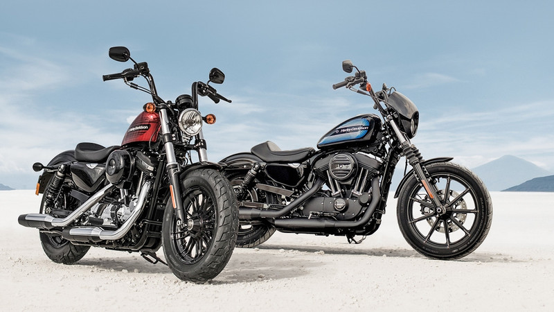 Harley-Davidson Iron 1200 und Forty-Eight Special
