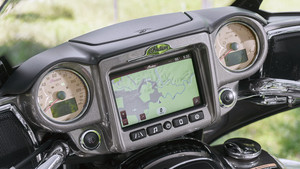 Indian Infotainment-System Ride Command
