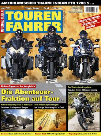 TOURENFAHRER Ausgabe Juli 2019