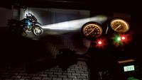 LED-Scheinwerfer und Kurvenlicht