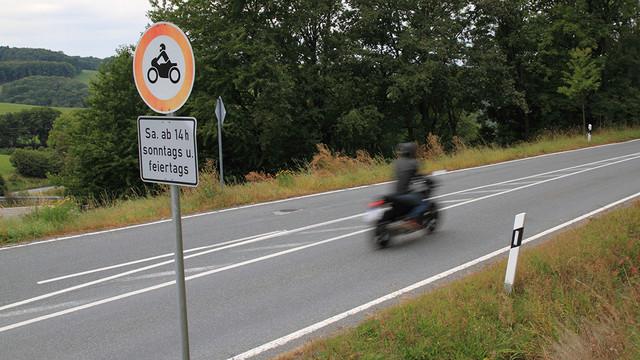 Sperrung der L 687 Sauerland