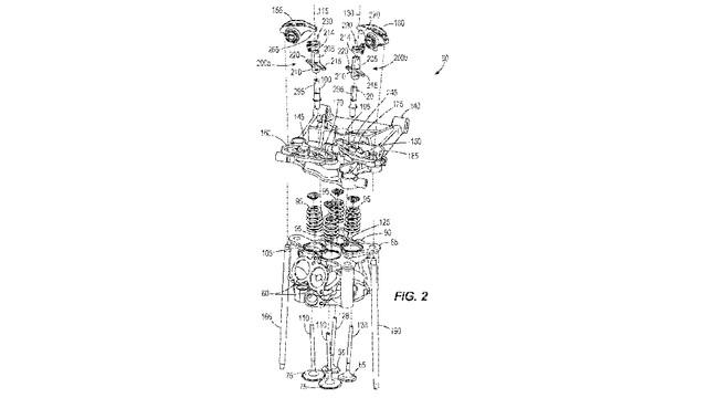 Harley-Davidson: Patent für neuen Ventiltrieb